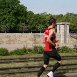 Sebastian rennt - wo ist die Frau