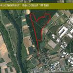 Stecke Hauptlauf 4 Runden im Trimm-Dich-Pfad